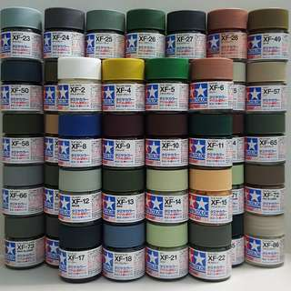 Tamiya Acrylic Paint mini Matt XF1-XF86 (10ml) *List inside
