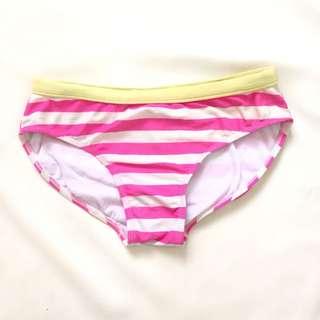 Stripes bikini bottoms