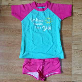 Branded Rashguards for Girls