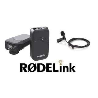 🚚 Rode Filmmaker Kit ( Rodelink Digital Wireless Lavalier System ) For DSLR, Mirrorless or Video Cameras