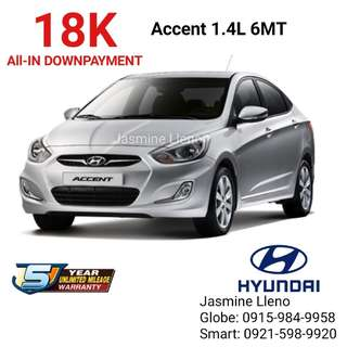 8K DP Only Brand New Hyundai Car