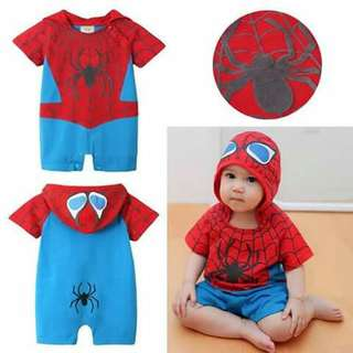 Spiderman Baby Costume Romper
