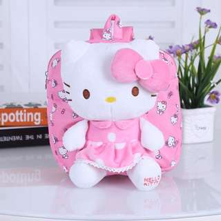 Hello Kitty Toddler Backpack, School Bag (3 Colours)