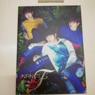 INFINITE F KOI NO SIGN JAPANESE ALBUM TYPE B