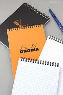 Grid Book Rhodia ring