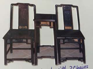 Rose wood chair set