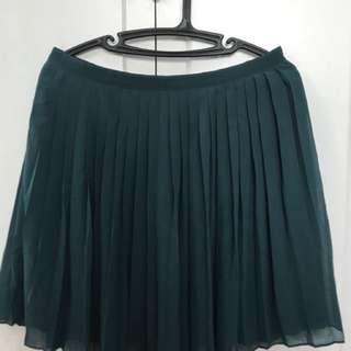 F21 Pleated Skirt