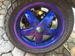Velg Vespa LX ( Coat Blue Glossy )