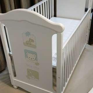 嬰兒床中床+六件組