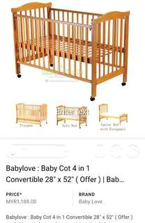 Baby Cot baby care