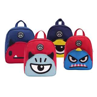 Cute Star Alien Kids Backpack