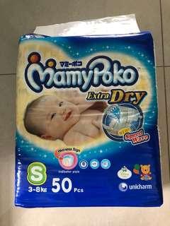 Mamypoko Tape Diaper Size S
