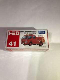 Tomica 41 Morita Fire Engine Type CD-