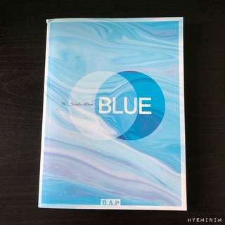 B.A.P Blue Version A Album