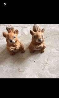 Wood squirrels
