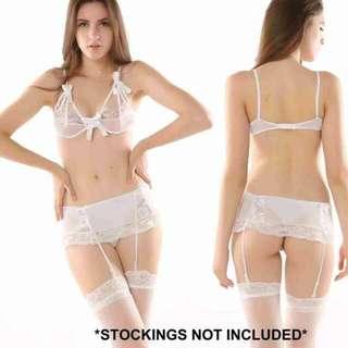 SLP611 Sexy Lingerie Lace Garter Set
