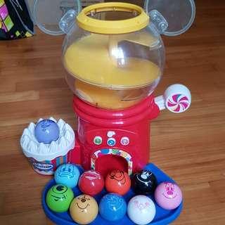 Disney & Pixar Talk n Talk Gacha! (Characters Ball Vending Machine)