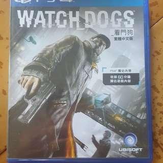 Watch Dogs 中文版ps4