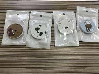 We Bare Bears Popsocket