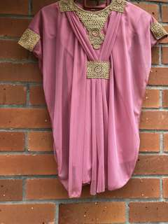 PINK KAFTAN FOR BABY 6-9 Months