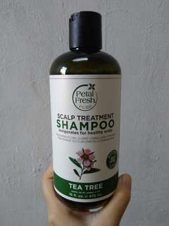 Scalp care tea tree shampoo