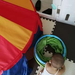Ikea Tent and tunnel