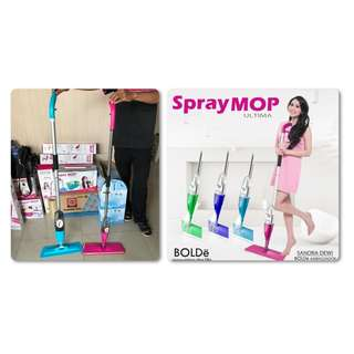 Pengepel Lantai Semprot Spray Mop Ultima Bolde (Stainless)