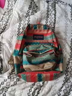Jansport Aztec Printed Backpack w/15inch laptop compartment and pockets