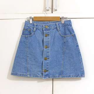 Maong Jeans Skirt Size XS to Small