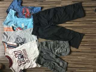 6pcs 3yo boy clothes bundle