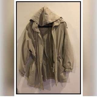 London fog hooded jacket