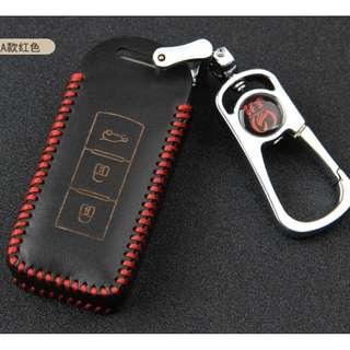 Mistubishi Lancer Type A Car Key Leather Pouch