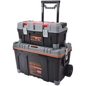 Tactix 2 in 1 Rolling tool box set