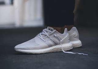 Y3 pure boost white