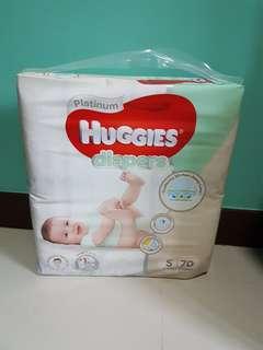 Huggies Platinum Diapers S
