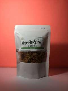 Mushroom Crisps Garlic
