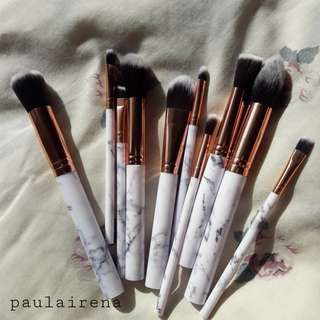 Brush makeup marble / kuas makeup marmer
