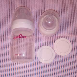 Spectra Breast Milk Storage Bottle with Cap, Sealing Discs and Teats