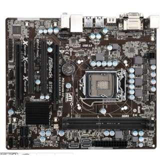 Asrock B75 + Intel i5 3470