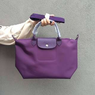 Longchamp Le Pliage Neo (Bilberry)