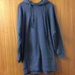 Long hoodie
