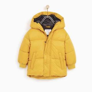 Zara Winter Jacket 3-4yrs
