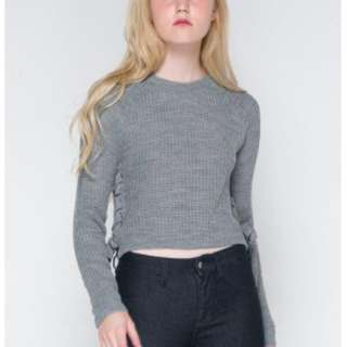 NEW! Colorbox Grey Sweater - Jumper Abu Abu
