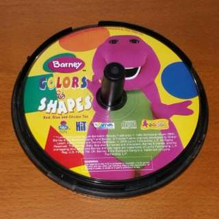 Barney's Color And Shapes VCD