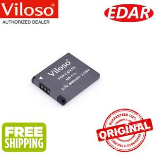 VILOSO NB-11L CANON DIGITAL CAMERA BATTERY REPLACEMENT  ««ORIGINAL & OFFICIAL VILOSO»»