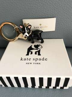 Kate Spade 狗仔挂飾