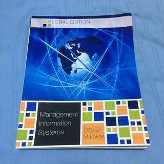 Management Information Systems By O'Brien Marakas