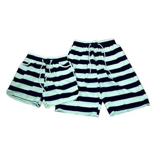Fashion Casual Beach wear Couple shorts (1pair) KB-10