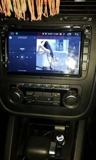 8'' Joying 6.0 Android head unit for VW Golf Mk6