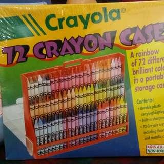 Crayola 72 Crayons Case